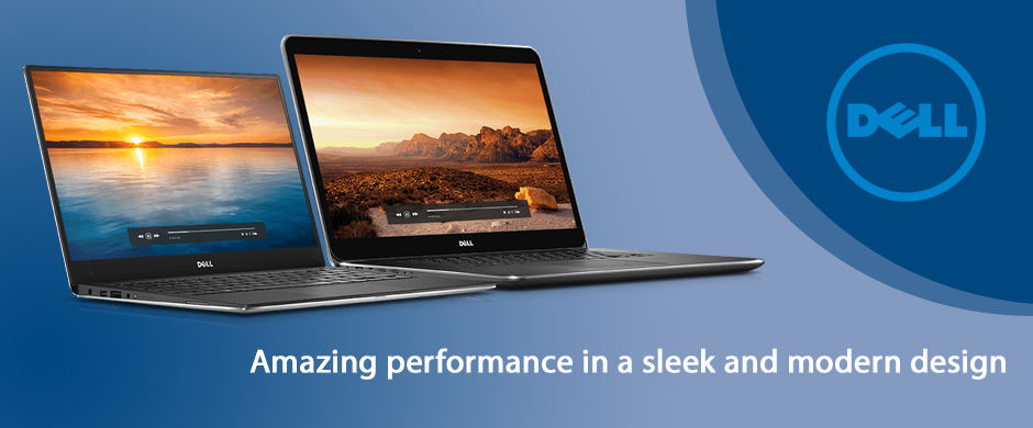 Dell Client Homepage Header