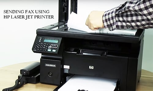 Hp printer faxing